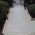 段差解消、庭の整地